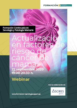 Actualización en factores de riesgo de cáncer de mama